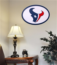 Houston Texans 31 inch Logo Wall Art
