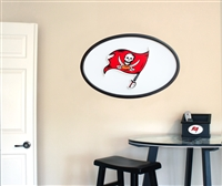 Tampa Bay Buccaneers 31 inch Logo Wall Art
