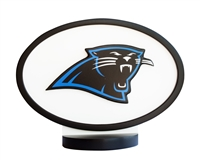 Carolina Panthers Logo Art with Stand
