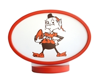 Cleveland Browns Logo Art with Stand