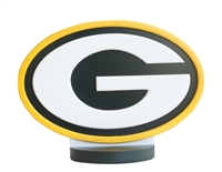 Green Bay Packers Logo Art with Stand