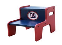 New York Giants Two Step Stool