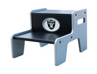 Oakland Raiders Two Step Stool
