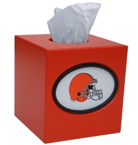 Cleveland Browns Tissue Box Cover