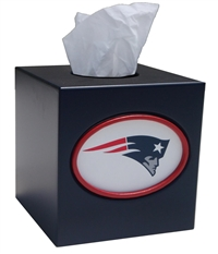 New England Patriots Tissue Box Cover