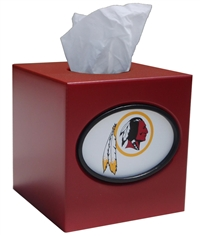 Washington Redskins Tissue Box Cover