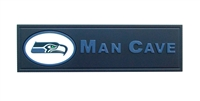 Seattle Seahawks Man Cave Plaque