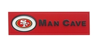 Fan Creations San Francisco 49ers Man Cave Plaque