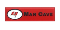 Tampa Bay Buccaneers Man Cave Plaque
