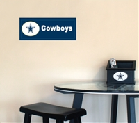 Fan Creations Dallas Cowboys Team Name Plaque