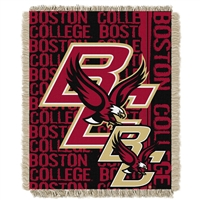 Boston College Eagles NCAA Triple Woven Jacquard Throw (Double Play Series) (48x60)