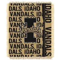 Idaho Vandals NCAA Triple Woven Jacquard Throw (Double Play Series) (48x60)