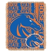 Boise State Broncos NCAA Triple Woven Jacquard Throw (Double Play Series) (48x60)