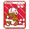 Nebraska Cornhuskers NCAA Triple Woven Jacquard Throw (Fullback Baby Series) (36x48)