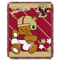 Boston College Eagles NCAA Triple Woven Jacquard Throw (Fullback Baby Series) (36x48)