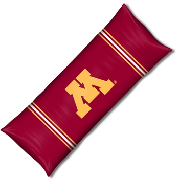 "Minnesota Golden Gophers NCAA Full Body Pillow (19x54"")"""