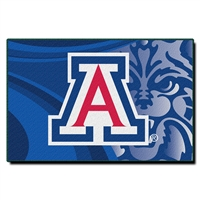 Arizona Wildcats NCAA Tufted Rug (Cosmic Series) (59x39)