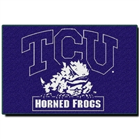 "Texas Christian Horned Frogs NCAA Tufted Rug (30x20"")"""