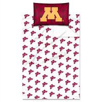 Minnesota Golden Gophers NCAA Twin Sheet Set