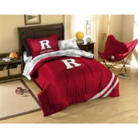 Rutgers Scarlet Knights NCAA Bed in a Bag (Twin)