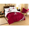 Alabama Crimson Tide NCAA Embroidered Comforter Twin/Full (Contrast Series) (64 x 86)