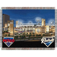 "San Diego Padres MLB Petco Park"" Triple Woven Throw"""