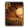 Pittsburgh Pirates MLB Woven Tapestry Throw (Vintage Series) (48x60)