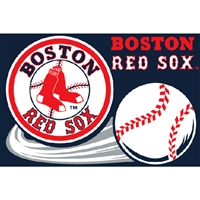 "Boston Red Sox MLB Tufted Rug (30x20"")"""