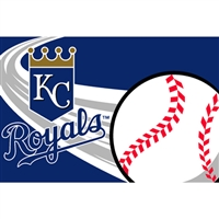 "Kansas City Royals MLB Tufted Rug (30x20"")"""