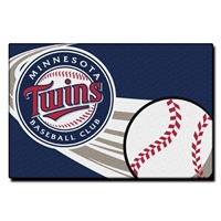 "Minnesota Twins MLB Tufted Rug (30x20"")"""