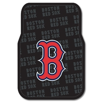"Boston Red Sox MLB Car Front Floor Mats (2 Front) (17x25"")"""