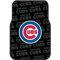 "Chicago Cubs MLB Car Front Floor Mats (2 Front) (17x25"")"""