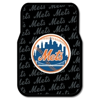 "New York Mets MLB Car Front Floor Mats (2 Front) (17x25"")"""
