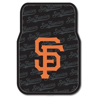 "San Francisco Giants MLB Car Front Floor Mats (2 Front) (17x25"")"""