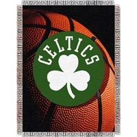 "Boston Celtics NBA Woven Tapestry Throw (48x60"")"""