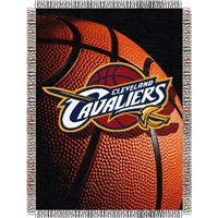 "Cleveland Cavaliers NBA Woven Tapestry Throw Blanket (48x60"")"""