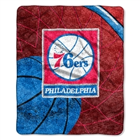 Philadelphia 76ers NBA Sherpa Throw (Reflect Series) (50x60)