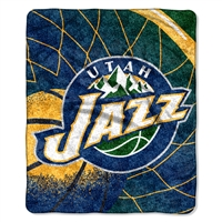"Utah Jazz NBA Sherpa Throw (Reflect Series) (50x60"")"""
