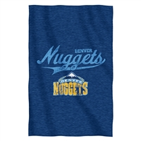 Denver Nuggets NBA Sweatshirt Throw