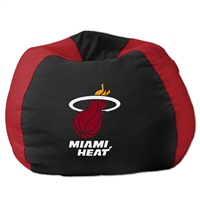 Miami Heat NBA Team Bean Bag (102 Round)""