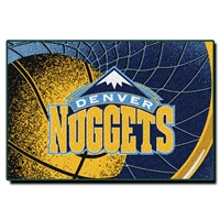 "Denver Nuggets NBA Tufted Rug (59x39"")"""