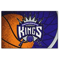 "Sacramento Kings NBA Tufted Rug (59x39"")"""