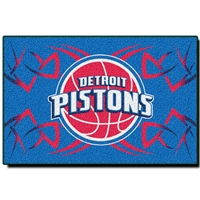 "Detroit Pistons NBA Tufted Rug (30x20"")"""