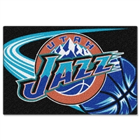 "Utah Jazz NBA Tufted Rug (30x20"")"""