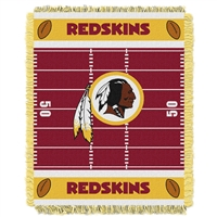 Washington Redskins NFL Triple Woven Jacquard Throw (Field Baby Series) (36x48)