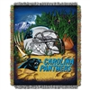Carolina Panthers NFL Woven Tapestry Throw (Home Field Advantage) (48x60)