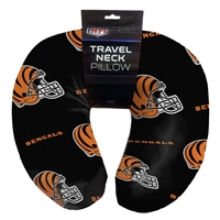 Cincinnati Bengals NFL Beadded Spandex Neck Pillow (12in x 13in x 5in)