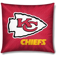 "Kansas City Chiefs NFL Toss Pillow (18x18"")"""