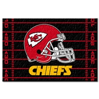 "Kansas City Chiefs NFL Tufted Rug (59x39"")"""