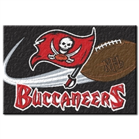 "Tampa Bay Buccaneers NFL Tufted Rug (30x20"")"""